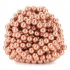 DIY 5mm NdFeB Magnetic Balls Educational Toy - Antique Brass (432 PCS)