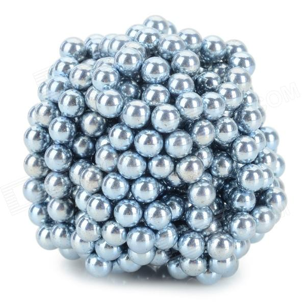 DIY 5mm NdFeB Magnetic Balls Educational Toy - Silver (432 PCS)