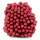 DIY 5mm NdFeB Magnetic Balls Educational Toy - Red (432 PCS)