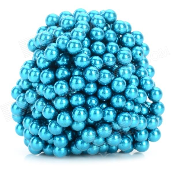 DIY 5mm NdFeB Magnetic Balls Educational Toy - Blue (432 PCS) 100pcs 3 x 2 mm strong disc magnetic sheet puzzle ndfeb novelty toy for diy