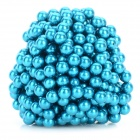 DIY 5mm NdFeB Magnetic Balls Educational Toy - Blue (432 PCS)