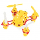 WLtoys V292 Outdoor 2.4GHz Mini 4-CH 6-Axis R/C Aircraft w/ Gyro - Yellow