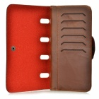 CC-125 Men's Fashionable Stylish PU Long Style Wallet - Brown