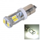 SENCART BA9S 4W 160lm 11500K 10-SMD 5730 LED Cool White Light Car Lamp - White (12~16V)