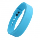 Wireless Bluetooth V4.0 Smart TPU Wrist Band w/ Call Remind / Idle Vibration / Alarm Clock - Blue