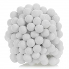 DIY 5mm NdFeB Magnetic Balls Educational Toy - Branco (216 PCS)