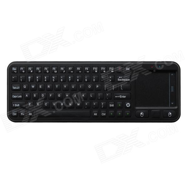 Measy RC8 79-Key Mini Portable 2.4GHz Wireless Fly Air Mouse Keyboard for Google Android TV Box
