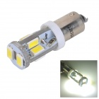 SENCART BA9S 4W 120lm 6500K 10-SMD 5730 LED White Light Car Lamp - White (12~16V)