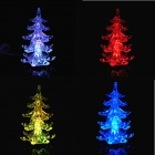 PZCD MY-08 USB Powered Multi-Color Slow Twinkle Romanttinen LED Desktop Crystal joulukuusi