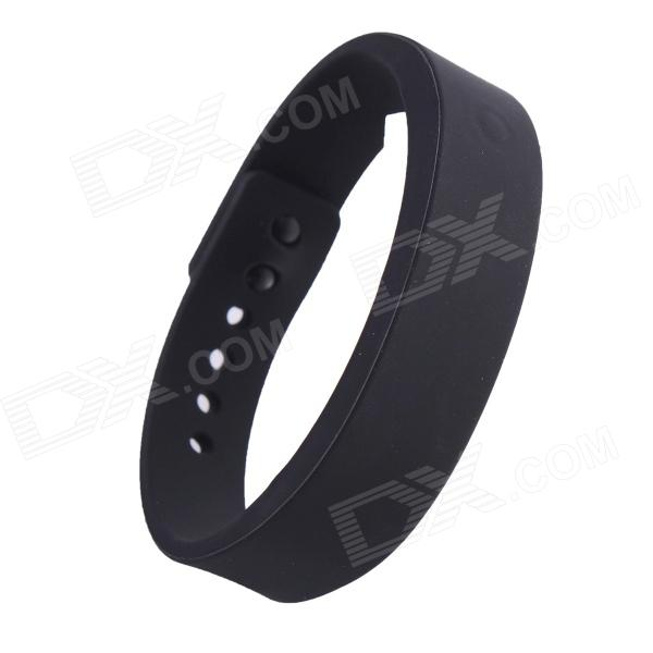 Wireless Bluetooth V4.0 Smart TPU Wrist Band w/ Call Remind / Idle Vibration / Alarm Clock - Black Daly City Покупка б у