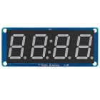 "D4056B 0.56"" LED 4-Digit Display Module w/ Clock Point for Arduino - Blue + Black + White"