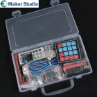 Maker Studio AK0000510M Arduino Uno R3 Learning Deluxe Kit