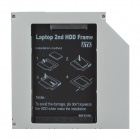 CHEERLINK HD9503-SA 2,5-tommers SATA til IDE andre HDD Candy for 9,5 mm CD-ROM - sølv