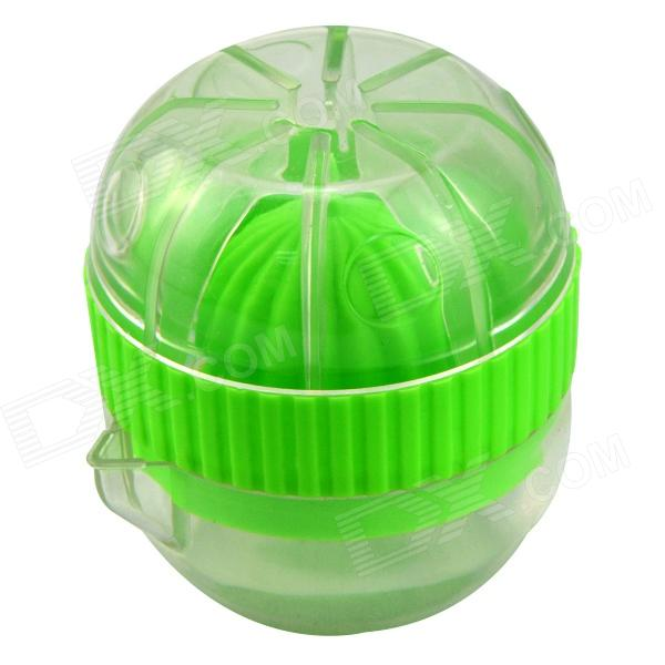 YW4A2-36337CY 98-163 Mini Manual Juicer - Translucent White + Green