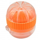 163 Mini Manual Juicer - Orange + Transparent