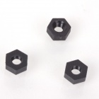ZnDiy-BRY R211-M3 Nylon Hex Nuts for Multicopter Flights-Black (20PCS)