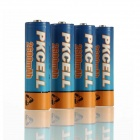 PKCELL 1.2V 2600mAh Ni-MH Rechargeable AA Batteries - Blue + Orange (4 PCS)