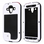 Redpepper Aluminum Alloy Glass Waterproof Case for Samsung Galaxy S3 i9300 - White + Black