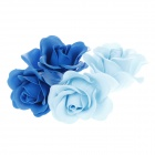 Romantic Rose Scented Soap Petals for Valentines Day / Wedding - Blue + Light Blue
