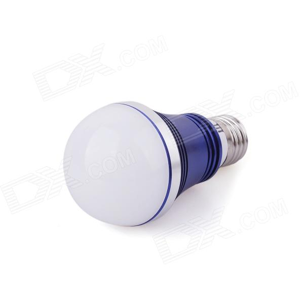цены на MP-02 E27 7W 610lm 3000K High-Power 7-LED Warm White Light Bulb - Deep Blue + Silver (AC100~240V) в интернет-магазинах