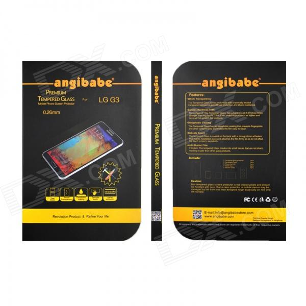 Angibabe 0.26mm 2.5D Protective Clear Tempered Glass Screen Protector for LG G3 D858
