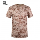 ESDY SM-2 Men's Quick-drying Leisure Cotton + Nylon O-neck Short Sleeve T-shirt - Camouflage (XL)