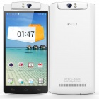 "INEW V8 Six-Core Android 4.4 WCDMA Bar Phone w/ 5.5"" O-Touch, GPS, Wi-Fi, NFC, Bluetooth 4.0 - White"