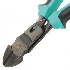 "Pro'sKit PM-936 8"" High Leverage Diagonal Cutting Plier - Green + Black (201.5mm)"