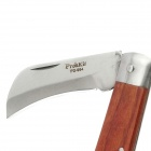 Pro'skit PD-994 Stainless Steel Electrical Knife - Reddish Brown + Silver (185mm)