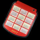 Multimedia Mouse Pad with 4-Port USB Hub and Lunar Calendar