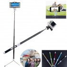 Carbon Fiber Bluetooth Intelligent Retractable Monopod for GoPro 2/3/3+ / IPHONE / Cellphone