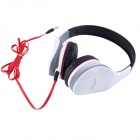 Ditmo Adjustable Headband 3.5mm Stereo Headphone - White