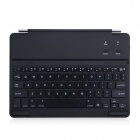 B.O.W 7-Color Changing Backlit Bluetooth V3.0 64-Key Keyboard for IPAD AIR - Silver + Black