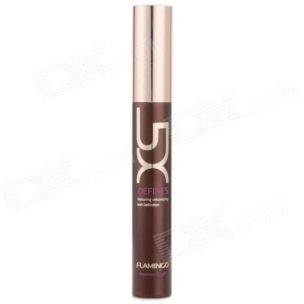 Makeup Cosmetic Water Resistant Zero-gradation Curling Eyelash Mascara - Golden + Coffee tecna cosmetic makeup eyelash lengthen curler mascara black