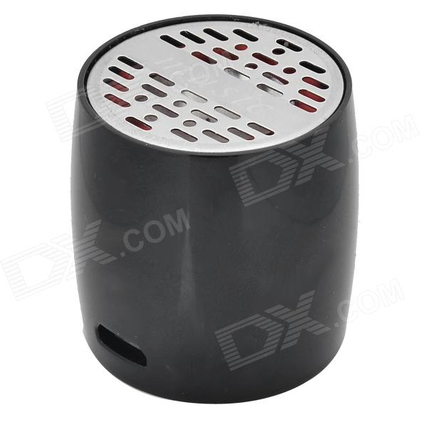 ZAP ZAP-EW008 Mini Bluetooth V3.0 Speaker w/ Microphone / Micro USB - Silver + Black