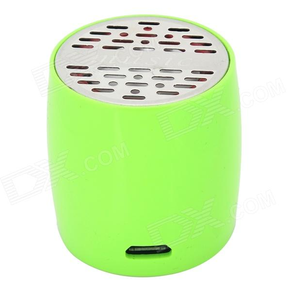 ZAP ZAP-EW008 Mini Bluetooth V3.0 Speaker w/ Microphone / Micro USB - Green + Black