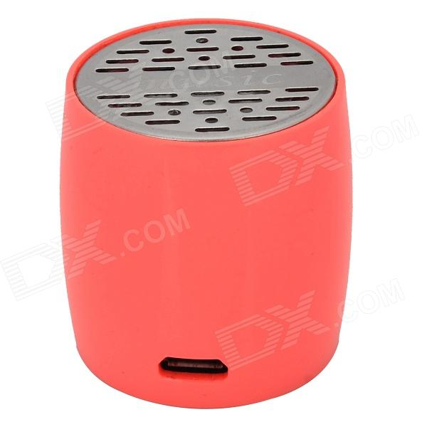 ZAP ZAP-EW008 Mini Bluetooth V3.0 Speaker w/ Microphone / Micro USB - Pink + Black