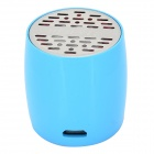 ZAP ZAP-EW008 Mini Bluetooth V3.0 Speaker w/ Microphone / Micro USB - Blue + Black