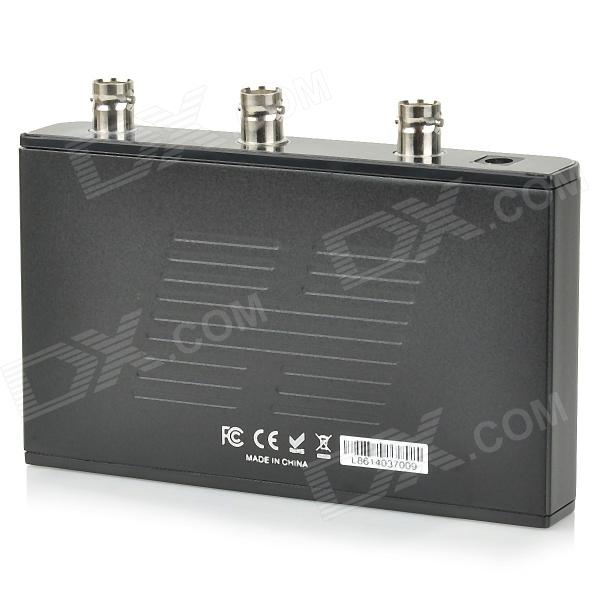 1x2 SDI Splitter Built-in Repeater - Black