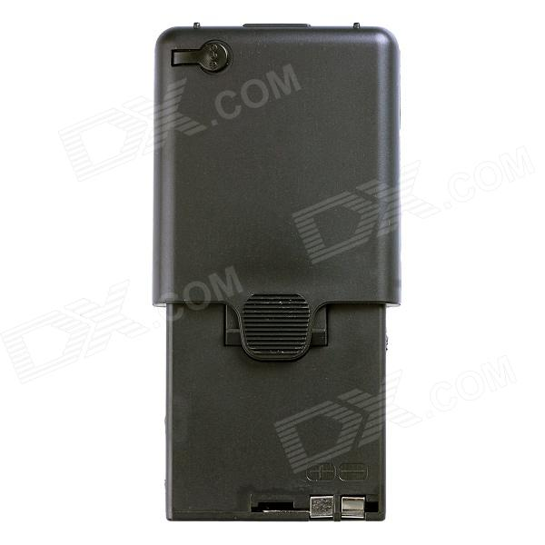 ZH01 Universal 6-AA Walkie Talkie Battery Case for KENWOOD TK-308 / TK208 / TK-22AT + More - Black куплю подшипник 6 208 б1