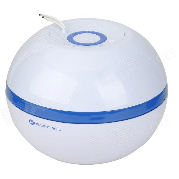 Magic Light Ball V600T Portable 3W 12V Home Air Cleaner Purifier - White + Blue laser freckle removal machine skin mole removal dark spot remover for face wart tag tattoo remaval pen salon home beauty care