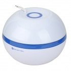 Magic Light Ball V600T Portable 3W 12V Home Air Cleaner Purifier - White + Blue