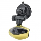 "H500 1.5"" TFT 3.0MP CMOS Car DVR w/ IR Night Vision / TF / G-Sensor / Mini USB - Champagne"