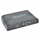 352A VGA a HDMI HD Video Converter - nero
