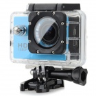"Mini 1.5"" TFT 1.2 MP 2/3 CMOS  Full HD Outdoor Sports Digital Video Camera - Blue"