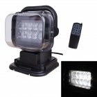 MZ 50W 4000LM LED 360' Rotating Remote Control White Spotlight Searchlight for Boat / Car (12V)