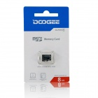 DOOGEE DGSD8 MicroSDHC / TF Memory Card for Cellphones - Black (8GB / Class 6)