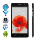 "CUBOT GT88 Dual-Core Android 4.2.2 WCDMA Bar Phone w/ 5.5"" IPS, GPS, FM and Dual-SIM - Black"