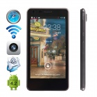 "CUBOT S108 MTK6582 Quad-core Android 4.2.2 WCDMA Bar Phone w/ 4.5"" QHD, Wi-Fi and GPS - Black"