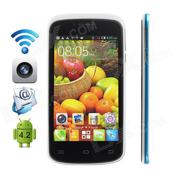 CUBOT GT95 Dual-Core Android 4.4.2 WCDMA Bar Phone w/ 4.0